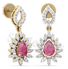 diamond earrings black friday sale cuff not enhanced 14k yellow gold fine diamond earrings ebay
