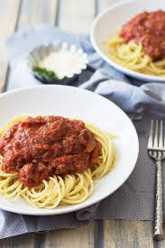 easy pasta sauce slow cooker spaghetti sauce countryside cravings