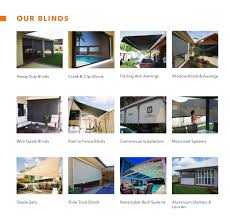 Track Guided Outdoor Blinds Bozzy Shade Blinds Outdoor Blinds Brochure 2013
