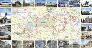 Berlin Germany Map by Berlin Map Free Virtual Map With 24 Images Of Famous Travel