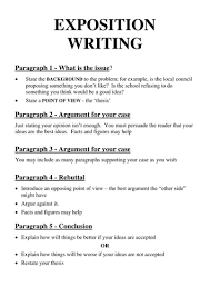 exposition writing scaffold by cutnorth teaching resources tes