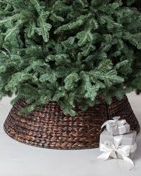 Balsam Hill Premium Artificial Christmas Trees by Woven Tree Collar Balsam Hill U2026 Pinteres U2026