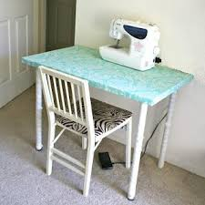 Diy Sewing Desk La Vie Diy Ikea Sewing Table Refashion