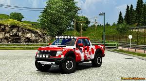 Ford Raptor Svt Truck - ford f150 raptor svt interior for ets 2 zagruzka mods com
