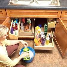under kitchen sink storage ideas under the sink storage lovable kitchen sink storage ideas under