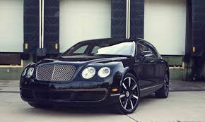 black bentley 2006 beluga black bentley continental flying spur pictures mods