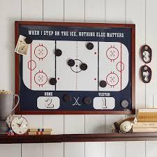 Best Gifts For Hockey Lovers Images On Pinterest Hockey Stuff - Boys hockey bedroom ideas