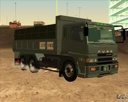 truck mitsubishi canter mitsubishi fuso super great dump truck for gta san andreas