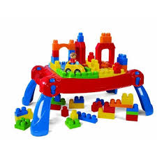 my first mega bloks table mega bloks play and go table stimulates your childre imagination and
