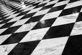 checkered flooring