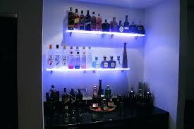 led lighted bar shelves led bar shelves 3 step led lighted bar shelves led lights bar