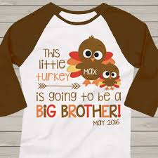 thanksgiving shirt big turkey pregnancy announcement