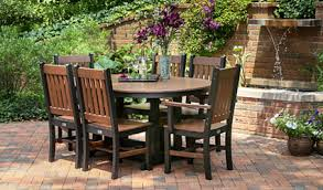 Amish Outdoor Patio Furniture Surprising Design Ideas Poly Patio Furniture Amish Ohio Resin