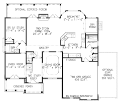 traditional style house plan 5 beds 4 baths 3054 sq ft plan 54