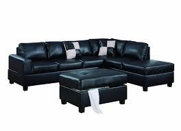 Black Microfiber Sectional Sofa Black Microfiber Sectional Sofa With Chaise