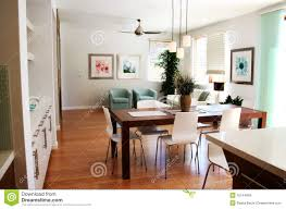 modern sitting room and dining area stock photo image 16144658