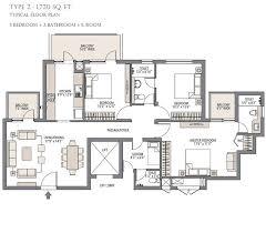 residential floor plans overview emaar mgf palm gardens gurgaon simran homes
