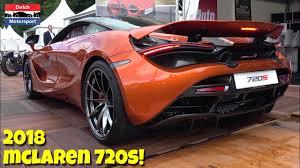 orange mclaren 720s 2018 mclaren 720s sound driving u0026 walkaround youtube