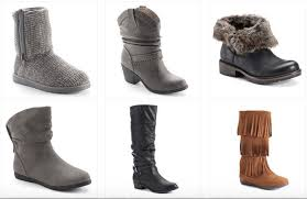 womens boots kohls kohl s com s boots as low as 11 99 each