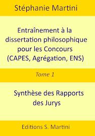 Entrainement dissertation concours tome