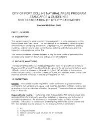 Letter Of Power Of Attorney Sample by Road And Utility Easement Letter Of Agreement Sample Pdf By