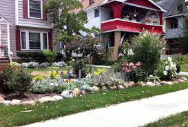 Front Garden Bed Ideas Attractive Front Gardens Designs With Small Wonderful Chic Flower