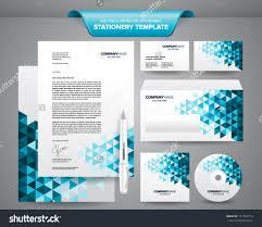 business card letterhead envelope template best templates design