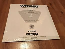 webway photo albums webway photograph albums refill pages 12 x 12 fw 200