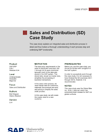 sap sd case study order to cash training icon computing invoice