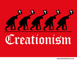 apes creationism atheist cards