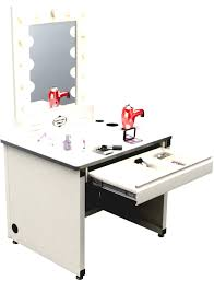 Makeup Vanity Table With Lighted Mirror Vanity Vanity Table With Lighted Mirror And Bench Vanity Tables