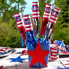 party themes july diy 4th of july party poppers centerpiece idea patriotic party