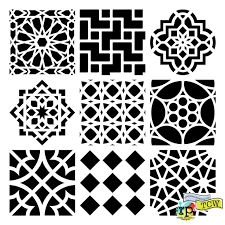 41 best patterns and stencil designs images on pinterest