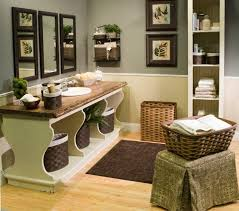 Wicker Basket Bathroom Storage Furnitures Endearing Bathroom Shelves With Baskets Durable Solid