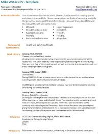 Resume Sample For Cleaner by Cleaner Resume Template Cozy Design Housekeeper Resume 11