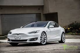 tesla model s new pearl white tesla model s 70d 20 inch tst brilliant silver