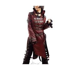 Rorschach Halloween Costume Steampunk Gothic Military Coat Punk Rave 261 Buy