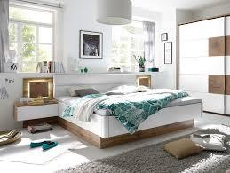 Schlafzimmer Komplett Bett 180x200 Cameron I Schlafzimmer Inkl Nakos Wildeiche Weiss