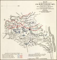 Map Of Franklin Tennessee by Historical Map Of The Battle Of Perryville Civil War Trust