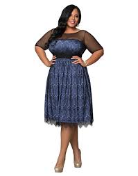 amazon com kiyonna women u0027s plus size vintage dream cocktail dress