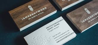 wooden business cards printed wood that looks natural and unique