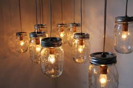 diy indoor hanging from ceiling mason jar candle lanterns ideas