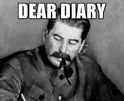 Writing Meme - dear diary know your meme