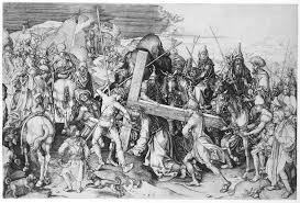 christ carrying the cross martin schongauer 35 27 work of