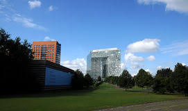dã sseldorf design hotel moderne architectuur in düsseldorf redactionele stock foto
