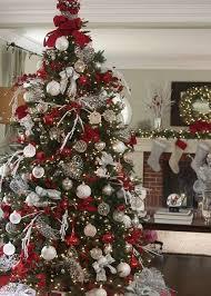 balsam hill s white and sparkle glitter ribbon tree