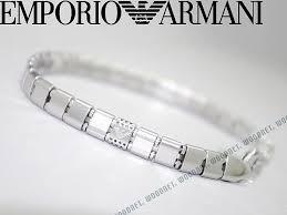armani bracelet ladies images Woodnet rakuten global market emporio armani bracelet silver jpg