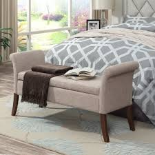 Bench Bedroom Furniture by Bedroom Benches You U0027ll Love Wayfair