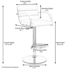 image result for stool height bar height foot rest height useful