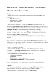 sede presidente della repubblica italiana organi di controllo presidente della repubblica e corte